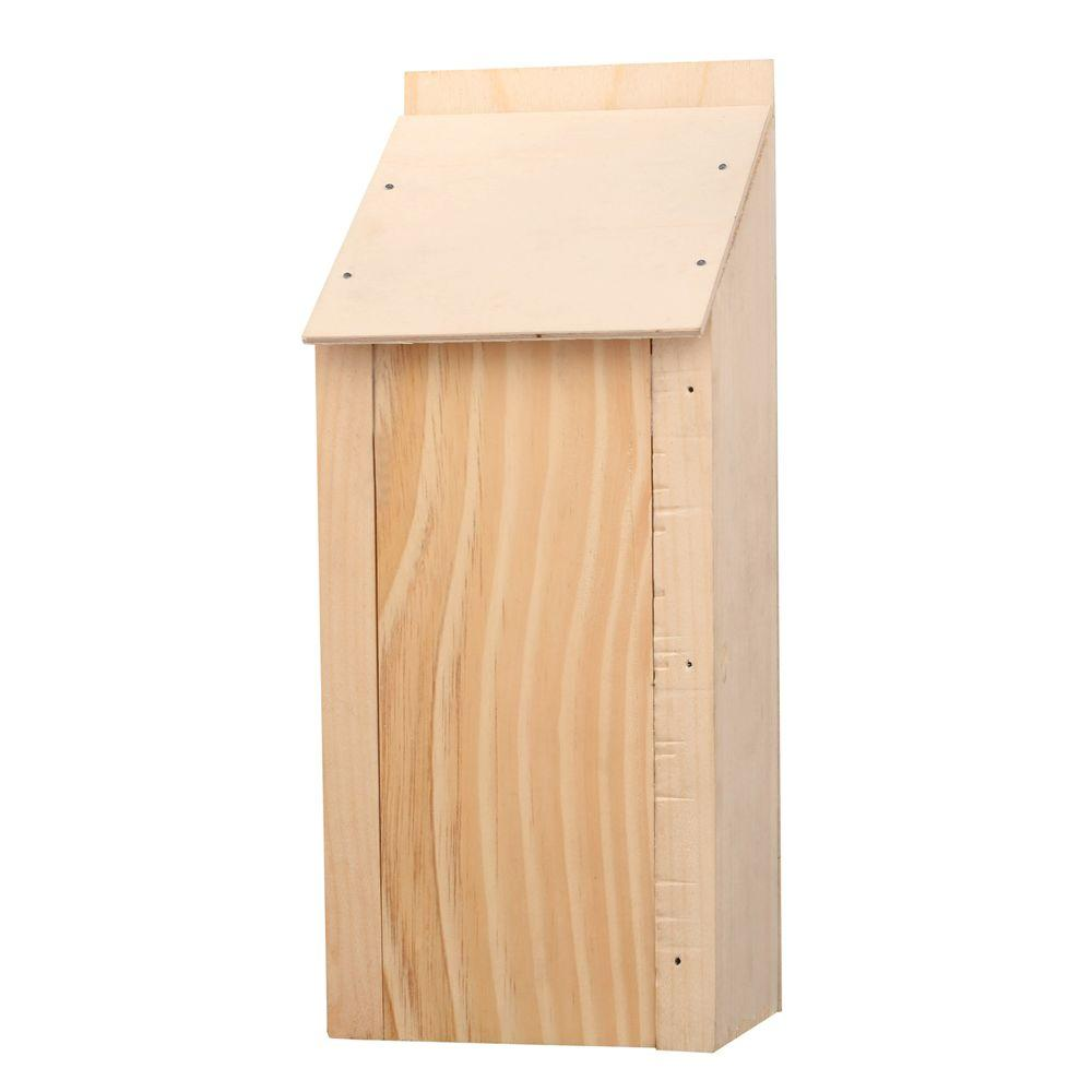 This is an incredible beginner project for even an 8-year-old. They can practice sanding wood, using a hammer, and experience what it feels like to build something. Take a look at this DIY bat house. thesawguy.com