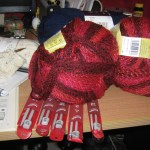 Armed with new knowledge, I raided the nearest semi-quality shop with yarn and needles...