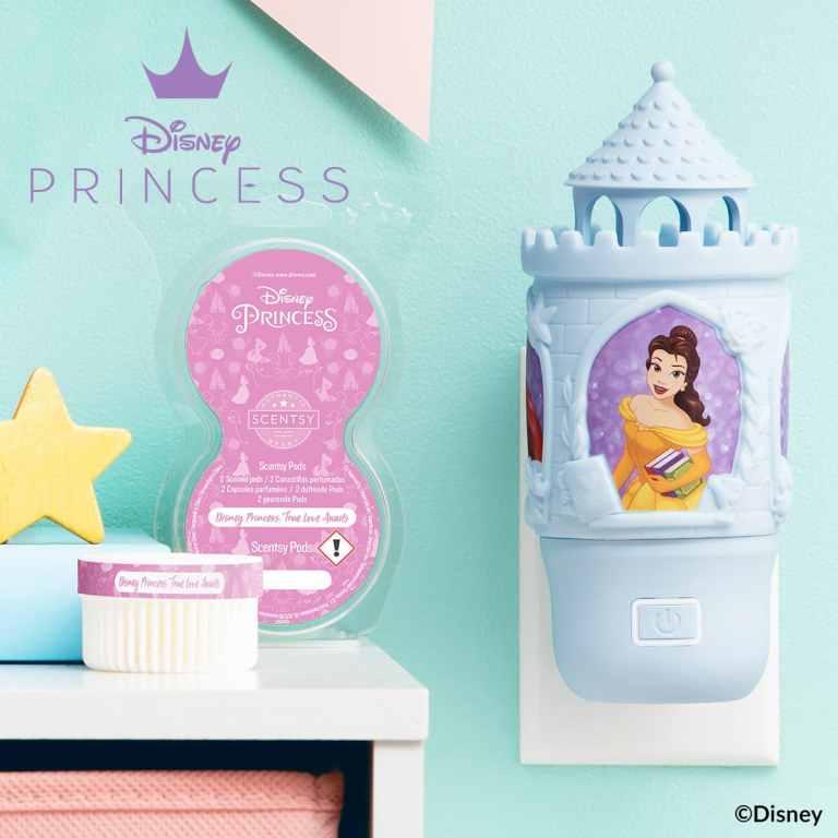 Scentsy Disney Princess Wall Fan Diffuser