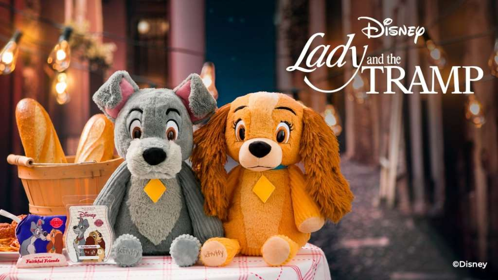 Lady and The Tramp Scentsy Buddy