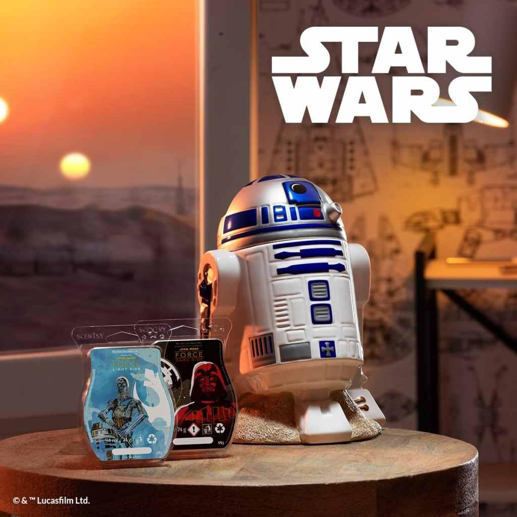 Star Wars R2D2 Scentsy Warmer