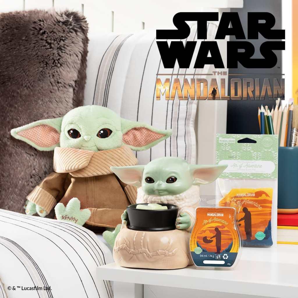 The Mandarlorian Star Wars Scentsy