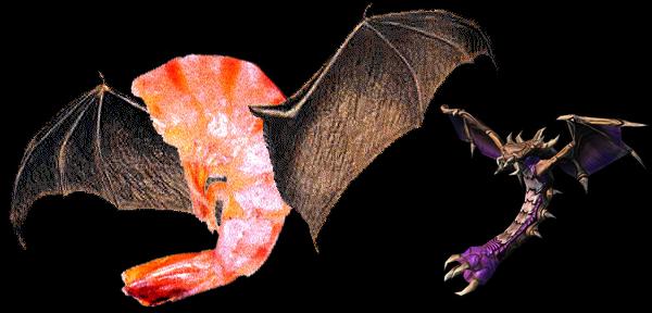 shimp bat and mutalisk