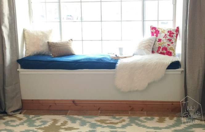 Make A Bench Cushion Using Doggie Bed Fraction Of The Cost Foam
