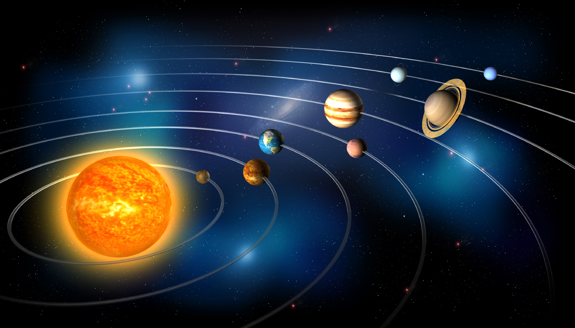 Solar System For Children