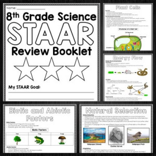 Science STAAR Review Booklet - 5th and 8th Grade - The