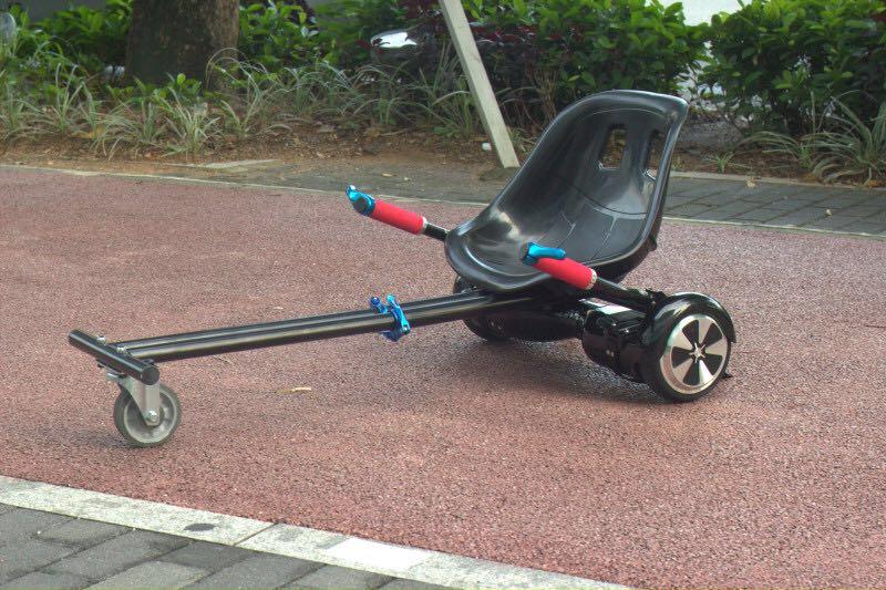 Oxboard Stoel Kopen : Hoverkart met luxe stoel nieuwste rage the scooter shop