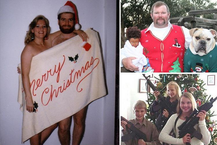 11 Of The Most Hilariously Awkward Festive Family Photos