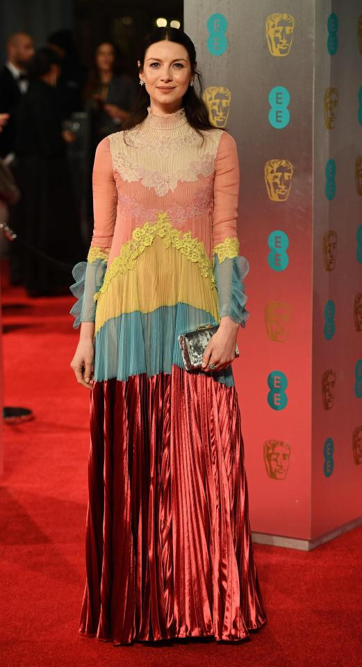 Outlander Star Caitriona Balfes Brave Choice Of Dress