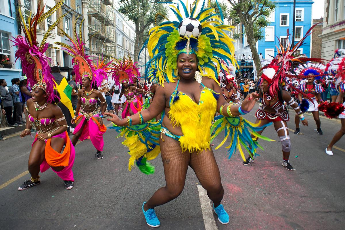 Notting Hill Carnival: Stunning images as revellers