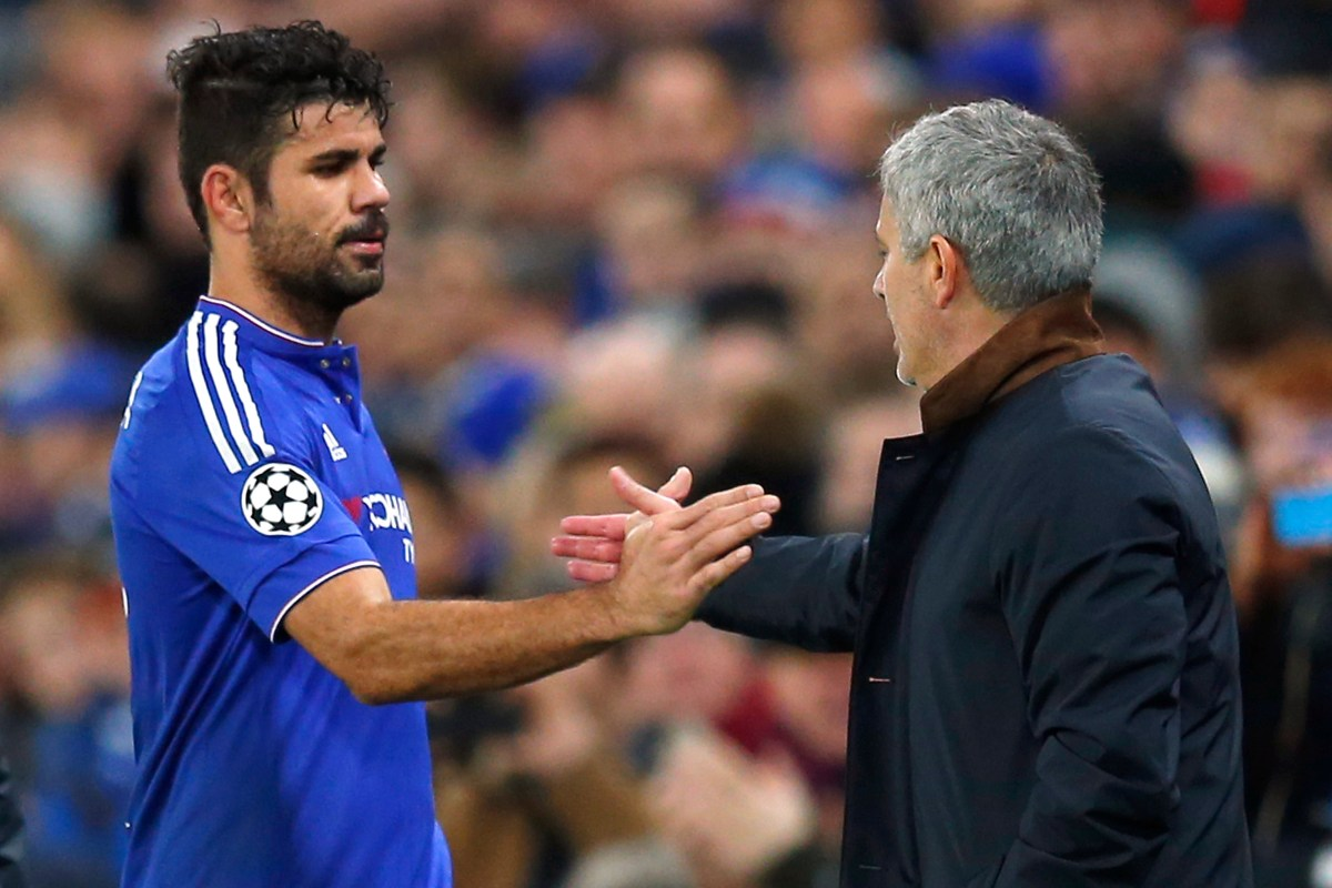 Jose Mourinho brands ex-Chelsea star Diego Costa an 'animal' during word association game