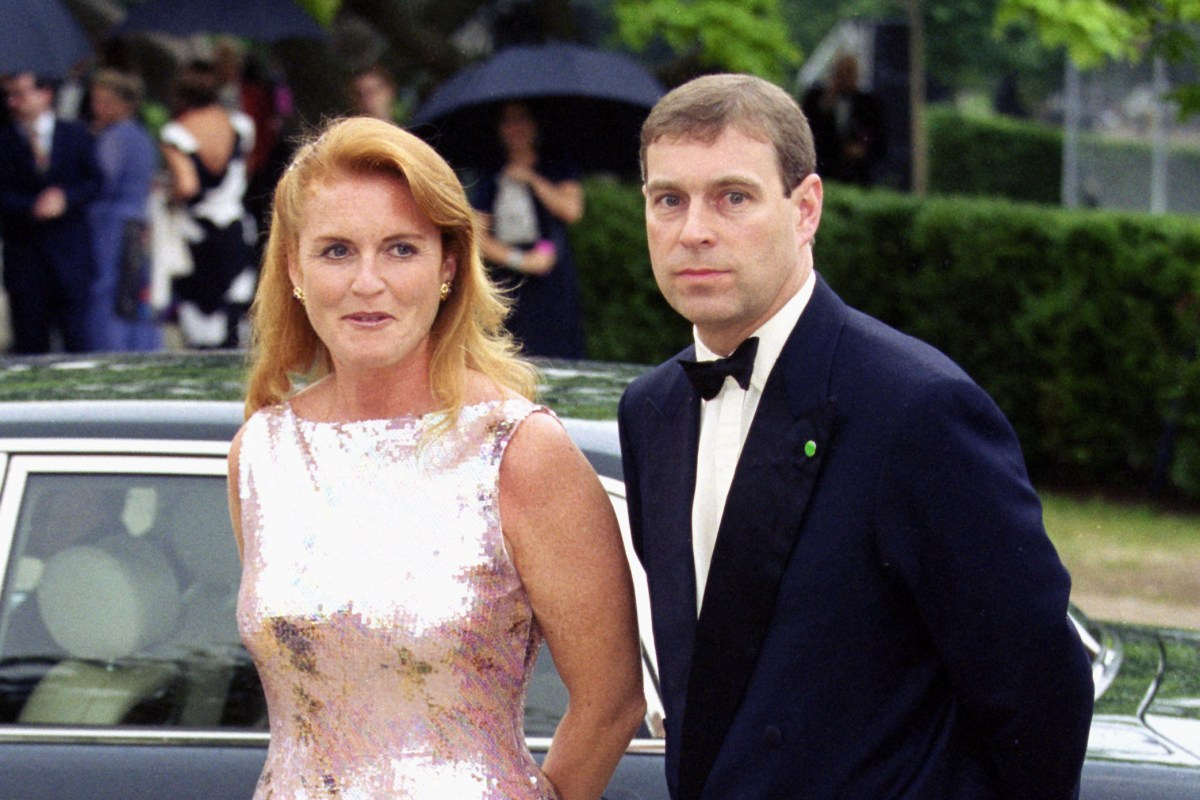 Prince Andrew hosting Fergie's intimate birthday bash complete with garden marquee and unlimited pink c