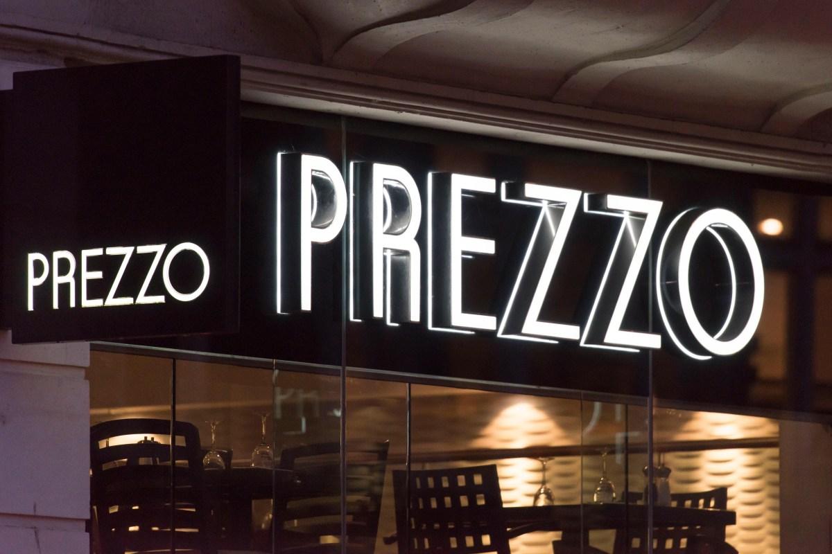 Prezzo to close 100 restaurants putting hundreds of jobs ...