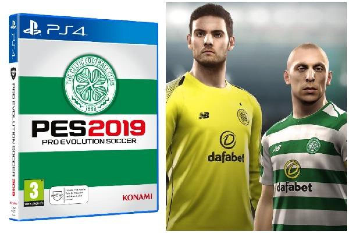 PES 2019: Celtic edition of new Pro Evolution Soccer game available