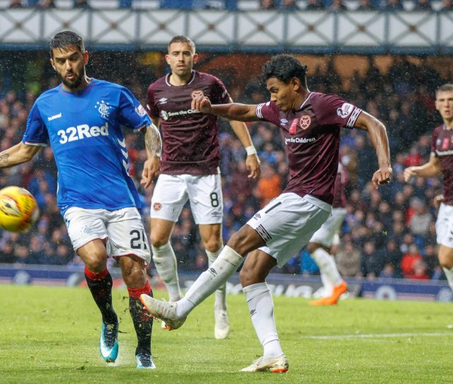 Hearts Face Rangers On Sunday