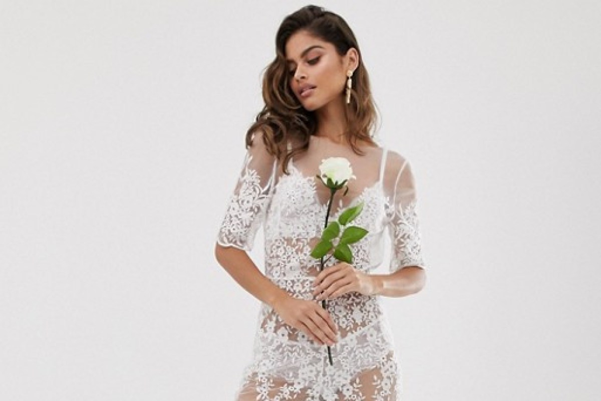 Wedding shamers blast ASOS' see-through bridal jumpsuit joking it's 'for the bedroom only'