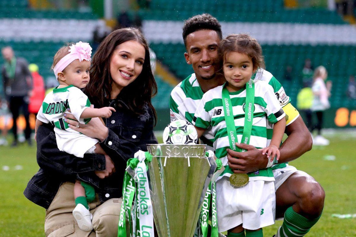 Helen Flanagan says Celtic footballer fiancé Scott Sinclair was useless at the birth of both their children