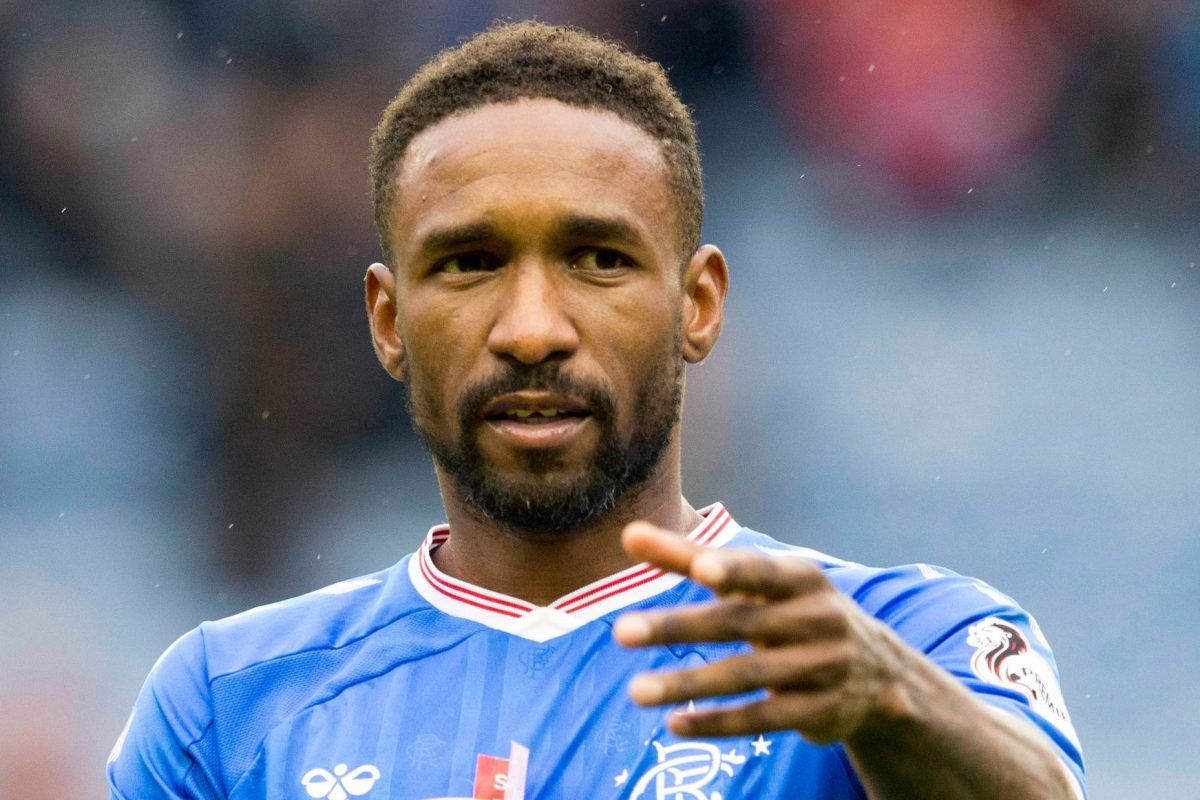 Rangers star Defoe named in Fifa Team of the Week after Hamilton hat-trick