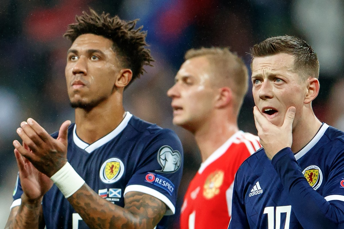 Scotland equal their worst ever losing sequence in Euro 2020 qualifying campaign