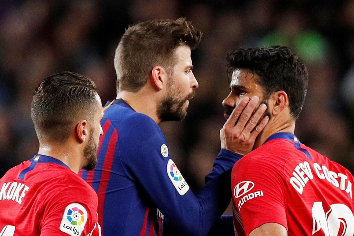 Atletico Madrid 3, Barcelona 2: Atleti wins wild Super Cup ...  |Barcelona-atlético Madrid