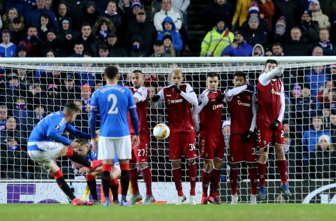The Romanian scored a brace to bring the Ibrox club back from two goals down to win