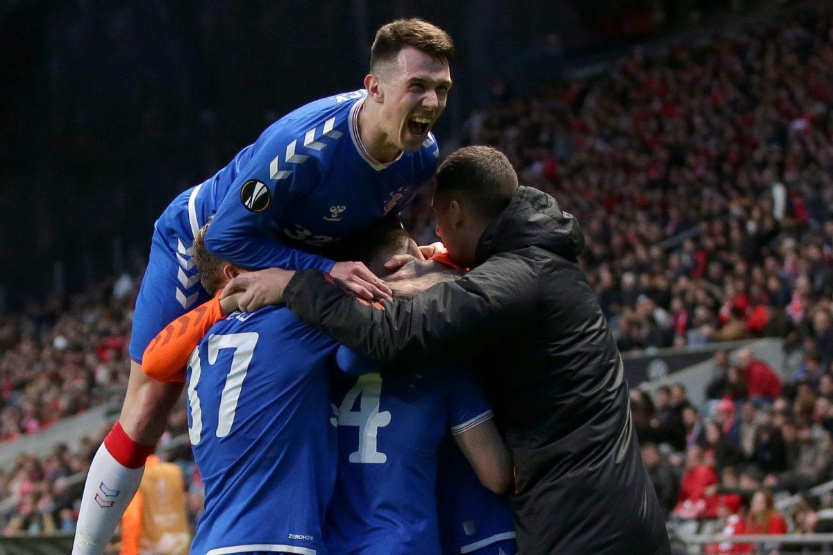 Ryan Kent the hero in Braga as Rangers qualify for Europa League last 16