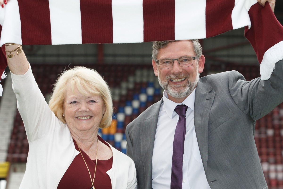 Hearts chief Budge sad to see Levein go and says ex-manager's reign wasn't all bad