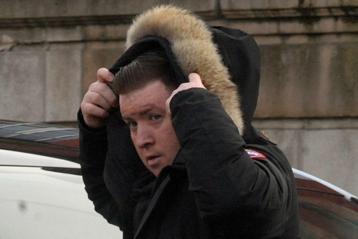 Glasgow gangster Robert Daniel slashed in neck in savage prison shower ambush