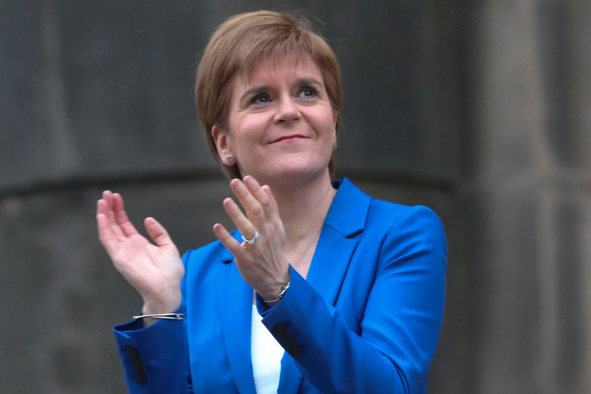 Scots react as 'Clap for Nicola Sturgeon' event organised for 50th birthday