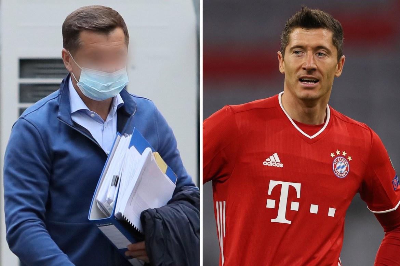 Bayern Munich star Robert Lewandowski's former agent detained by police amid  £18.1m blackmail plot allegations