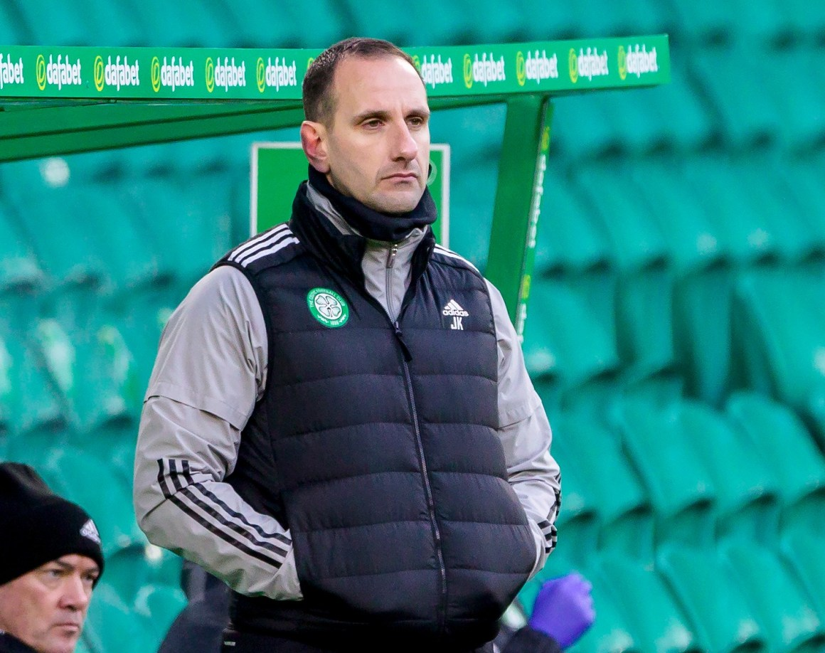 John Kennedy will take interim charge of Celtic