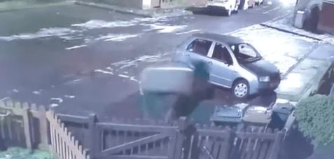 The incident happened on January 2 in Edinburgh