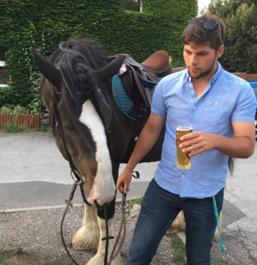 Lee-Paterson admitted having sex with a horse