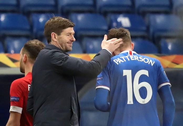 Steven Gerrard says SFA may hurt Nathan Patterson by hitting him with ban