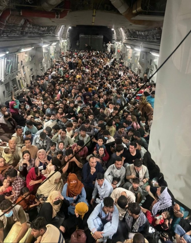 Thousands are currently seeking refuge