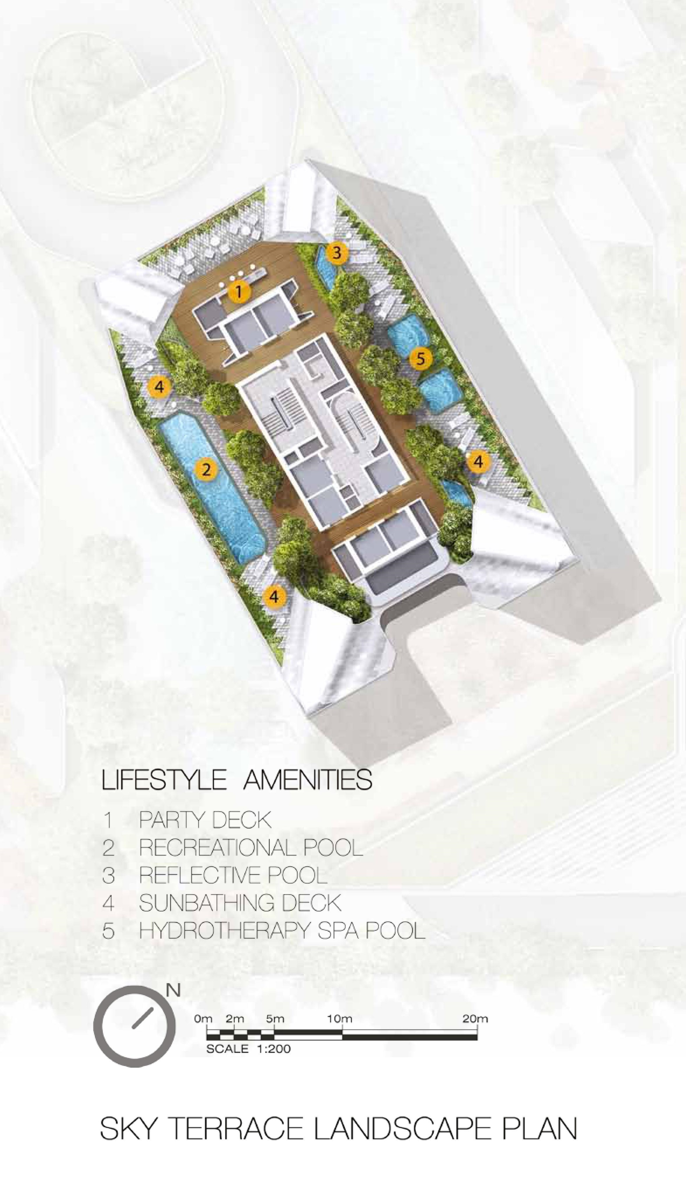 The Scotts Tower Sky Lobby Lifestyle Site Map