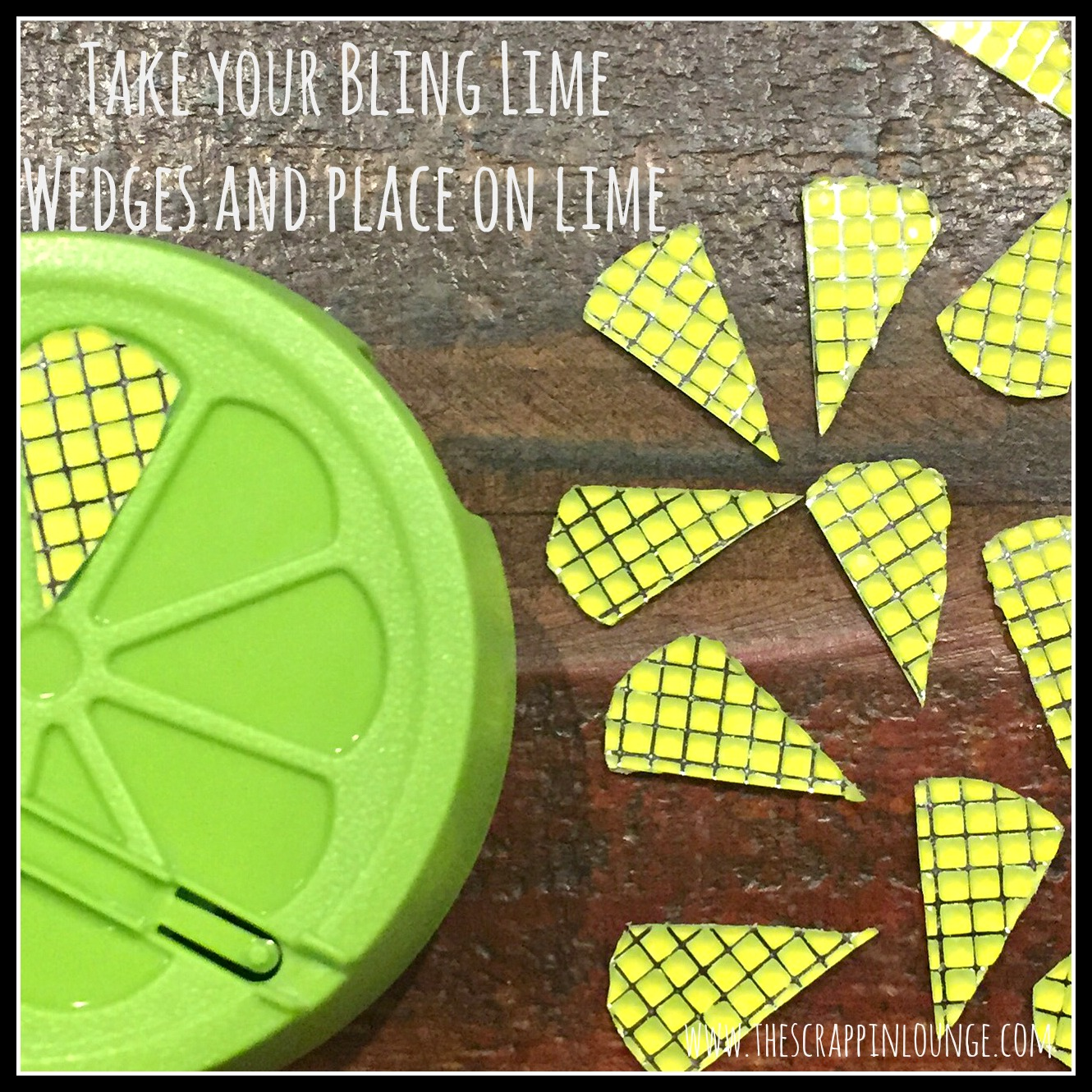 Lime wedge picture