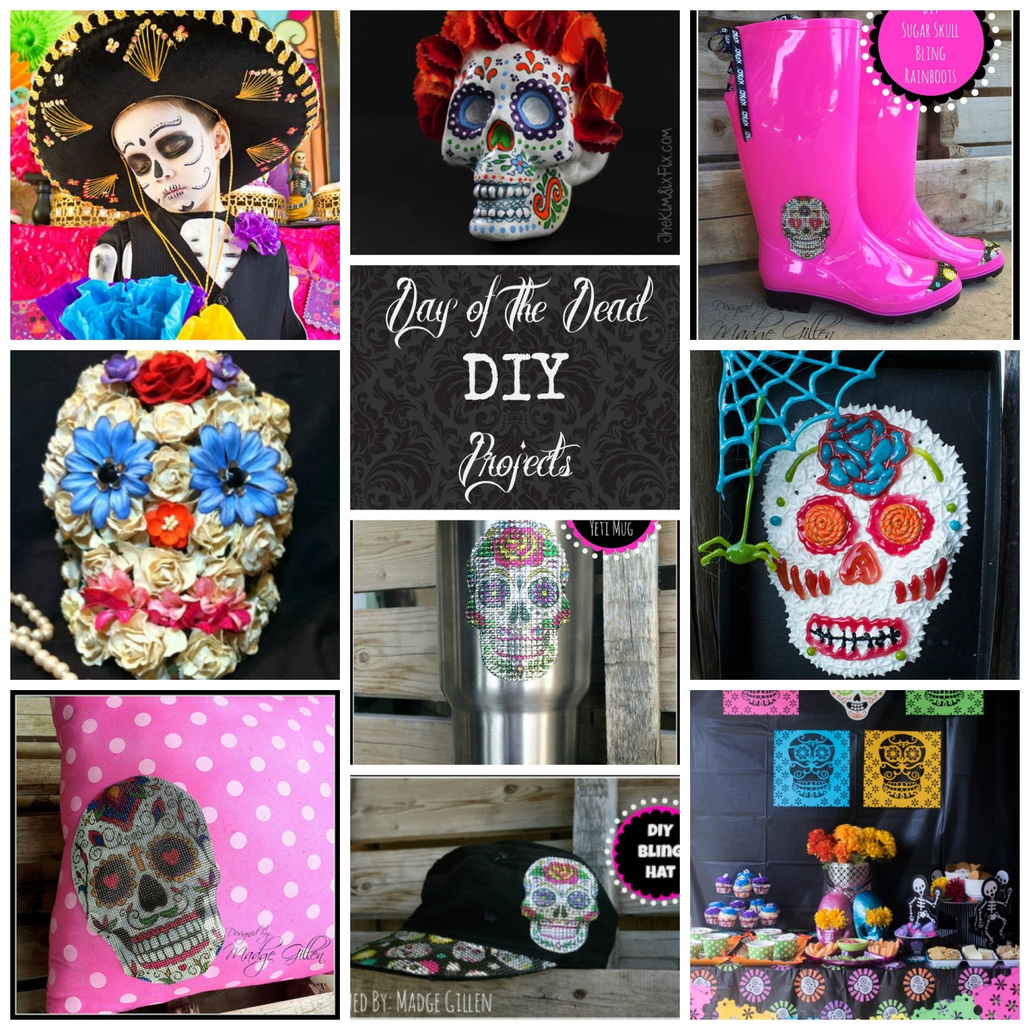 Day of the Dead collage