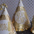 2016 NEW YEARS PARTY HATS MADGE GILLEN COVER IMAGE