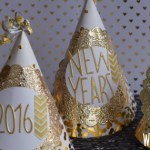 DIY New Years Party Hats