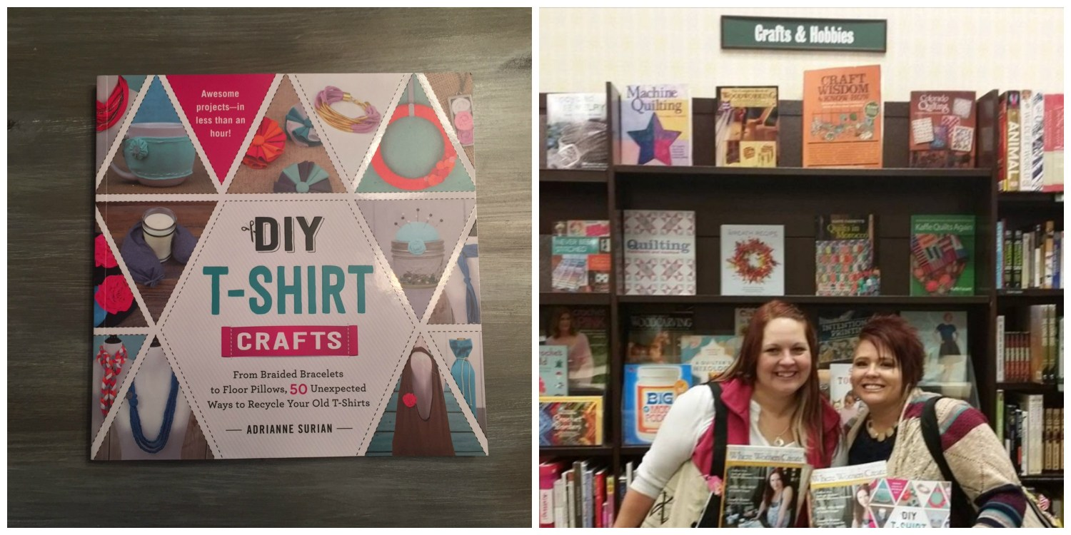 Barnes and Noble with Adrianne Surian
