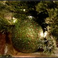 DIY Tinsel Christmas ornament.madgegillen1
