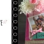 Dollar Store Valentine Frame