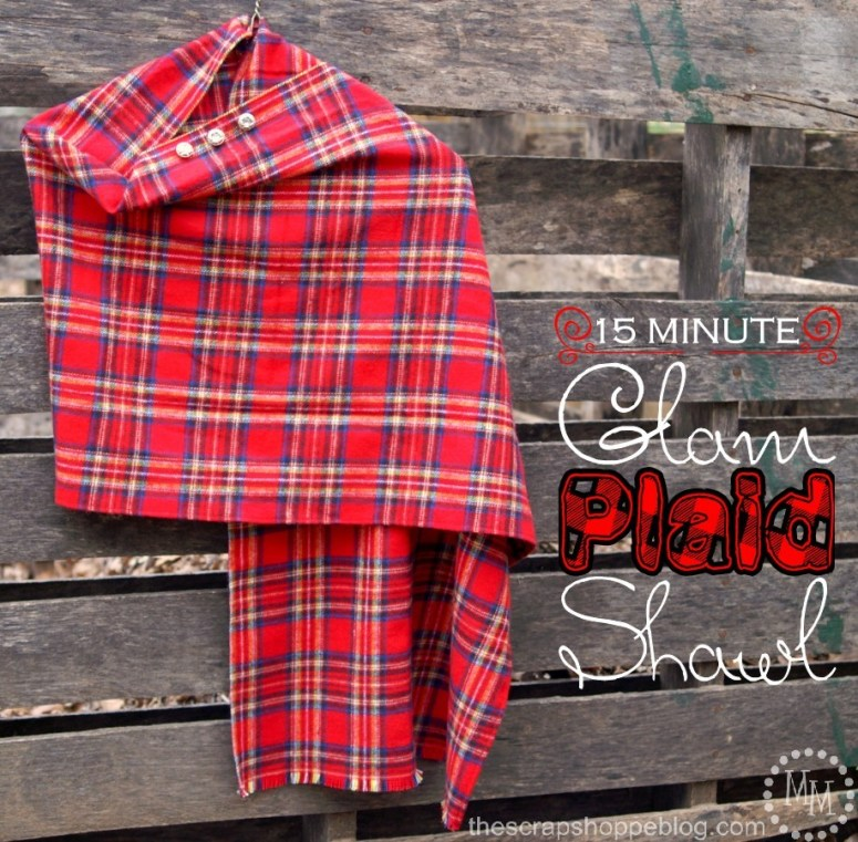 15-minute-glam-plaid-shawl