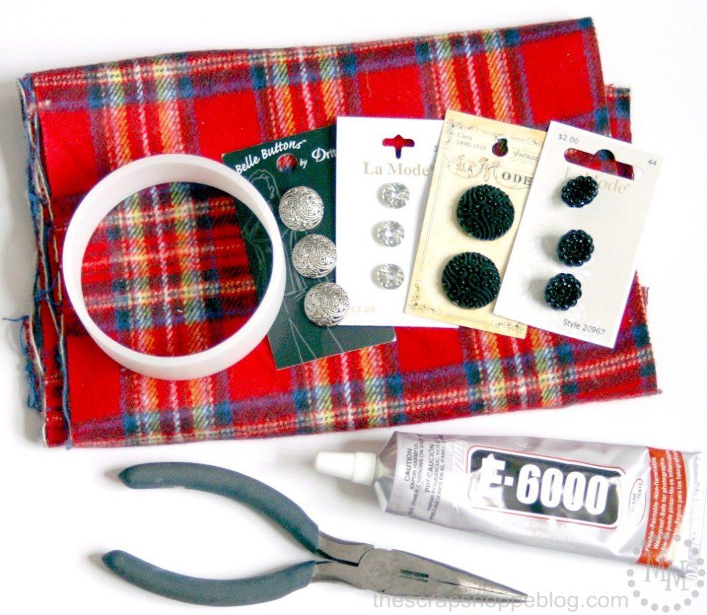 plaid-bracelet-supplies