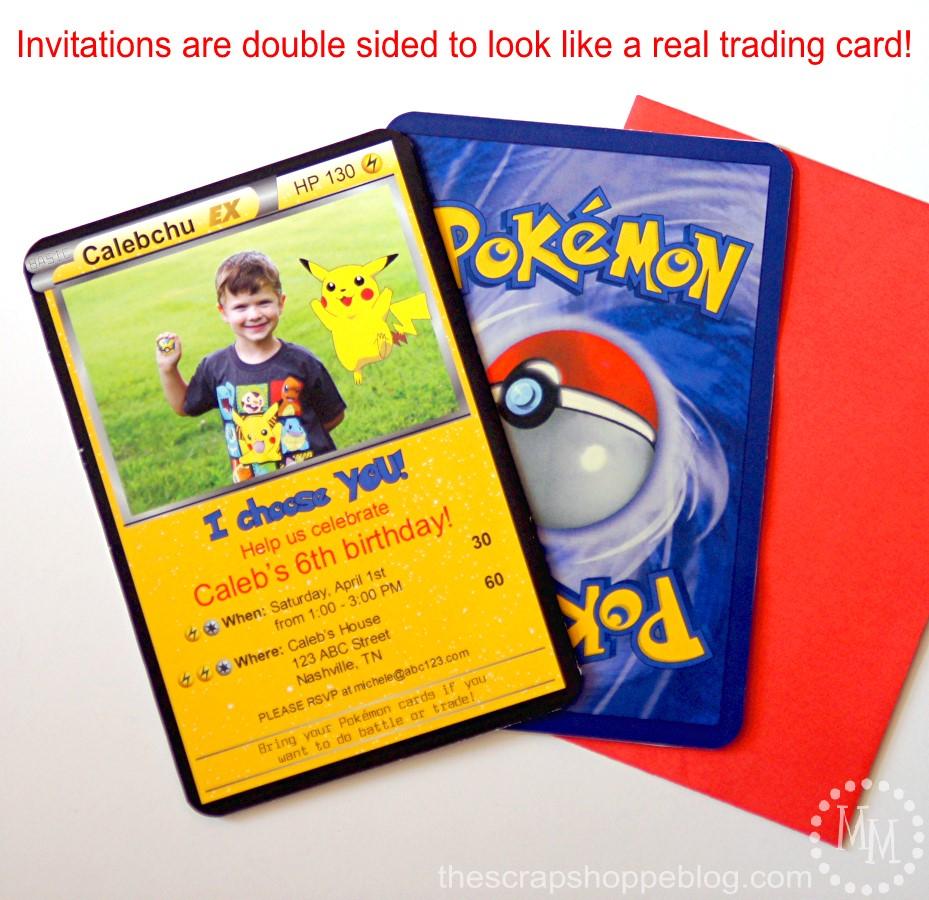 pokemon gift bags free printables