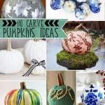 No Carve Pumpkin Ideas The Scrap Shoppe