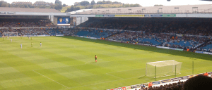 View of the West Stand and pitch