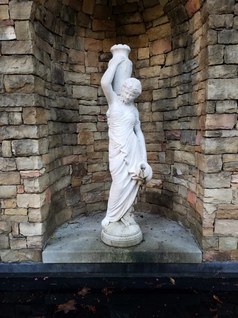 Lady with Urn Fountain