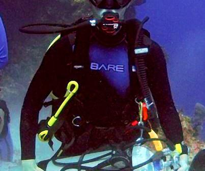 Daniel Redinger - Diver Profile at The Scuba News